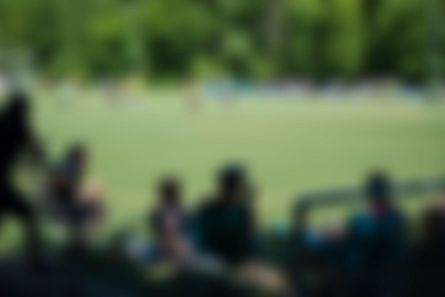 Unser Immergutzocken Fußballfeld aus der Besucher*innenperspektive