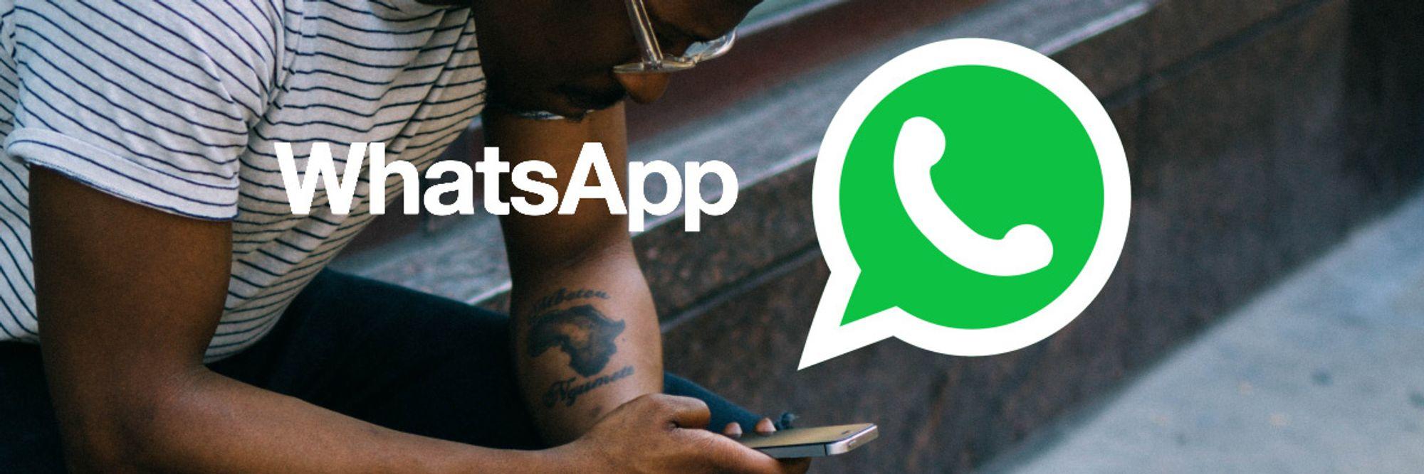 Bedrägeri på WhatsApp