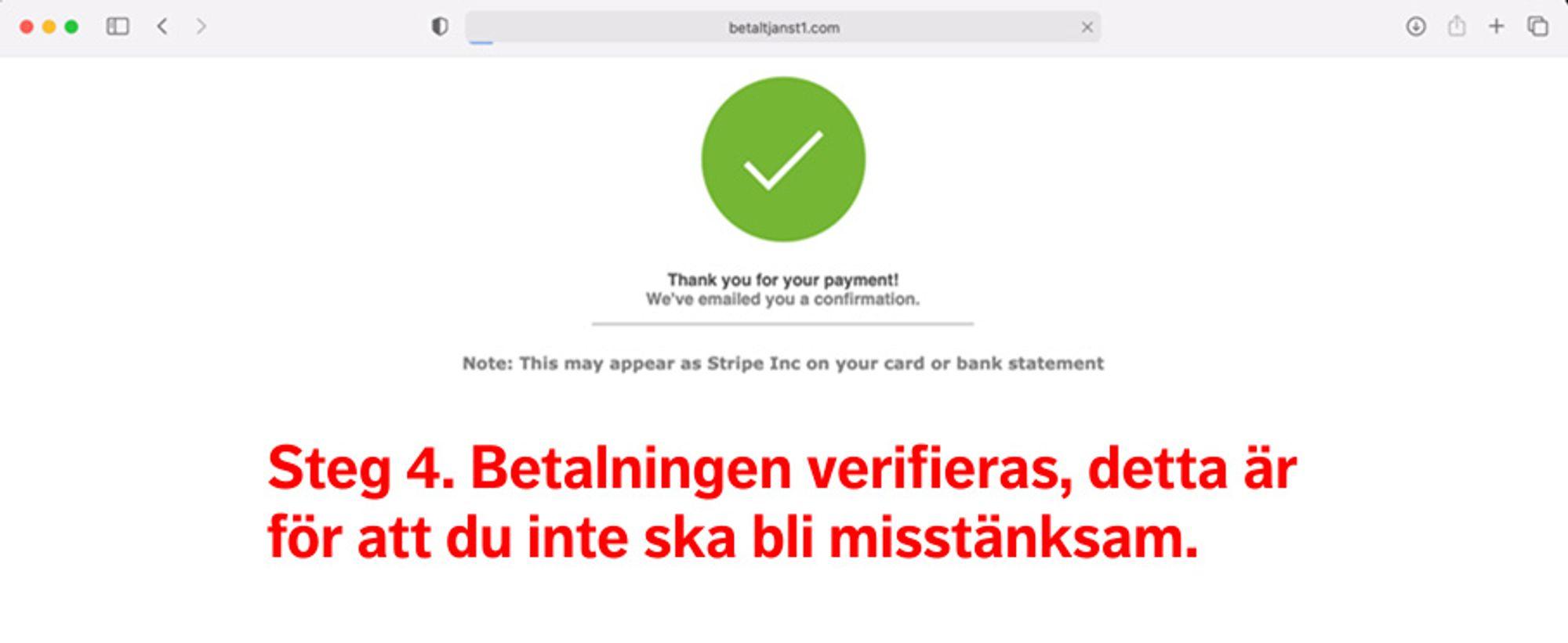 Varning för falsk webbsida som liknar Postnord