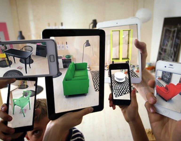 Objects as they appear on digital devices