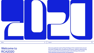RCA2020 homepage