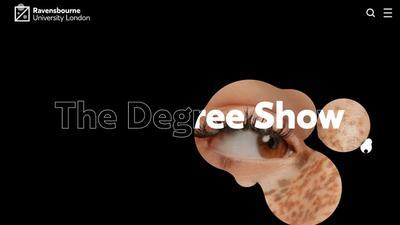 Ravensbourne 2020 Degree Show