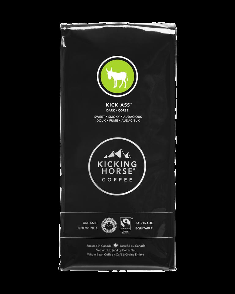 Kicking Horse Coffee - Kick Ass - Whole Bean Coffee - 454g