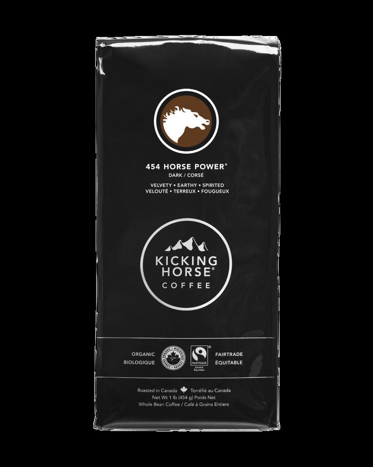Kicking Horse Coffee - 454 Horse Power - Whole Bean Coffee - 454g
