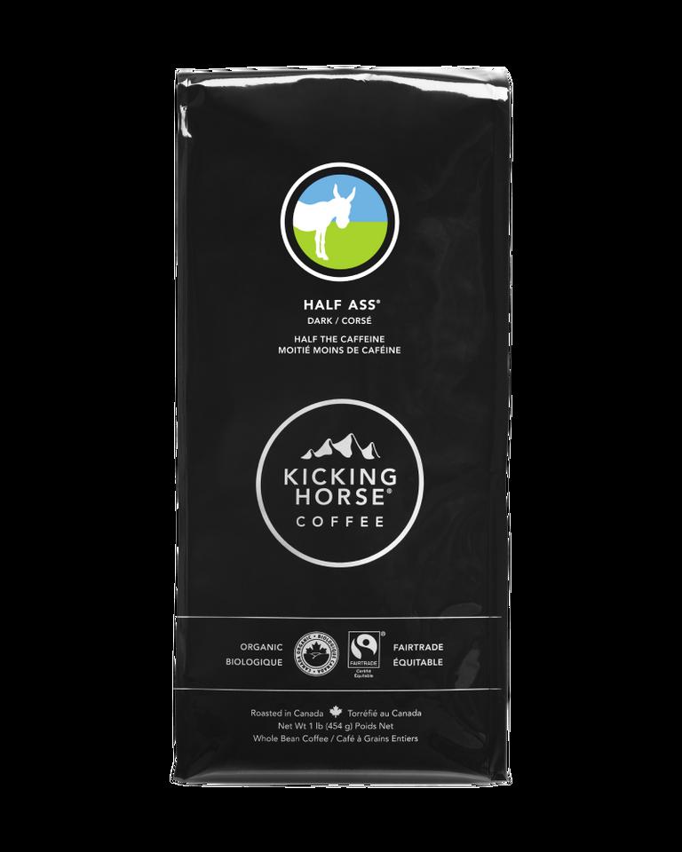 Kicking Horse Coffee - Half Ass - Whole Bean Coffee - 454g