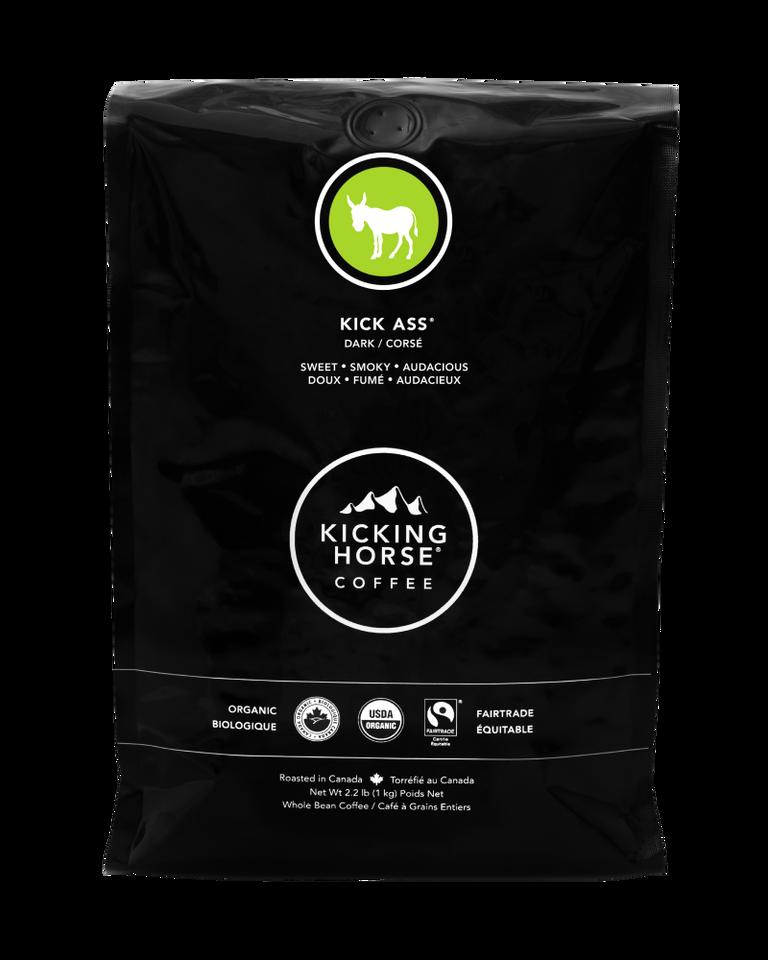 Kicking Horse Coffee - Kick Ass - Whole Bean Coffee - 1kg