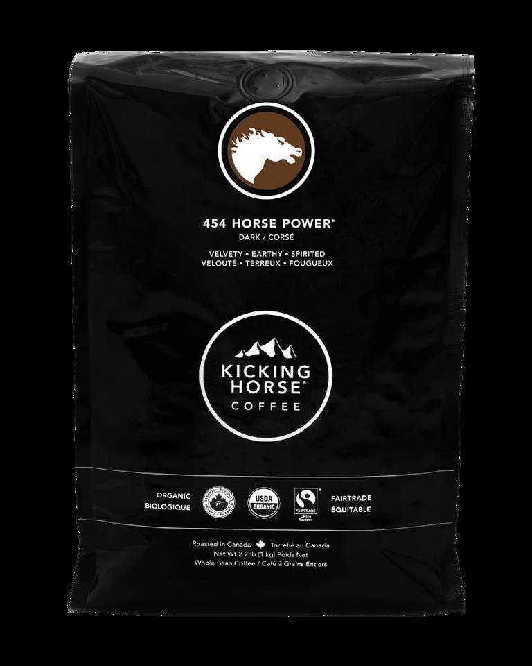 Kicking Horse Coffee - 454 Horse Power - Whole Bean Coffee - 2.2 lb