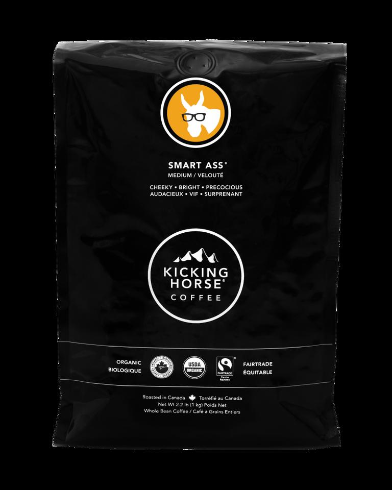 Kicking Horse Coffee - Smart Ass - Whole Bean Coffee - 2.2 lb