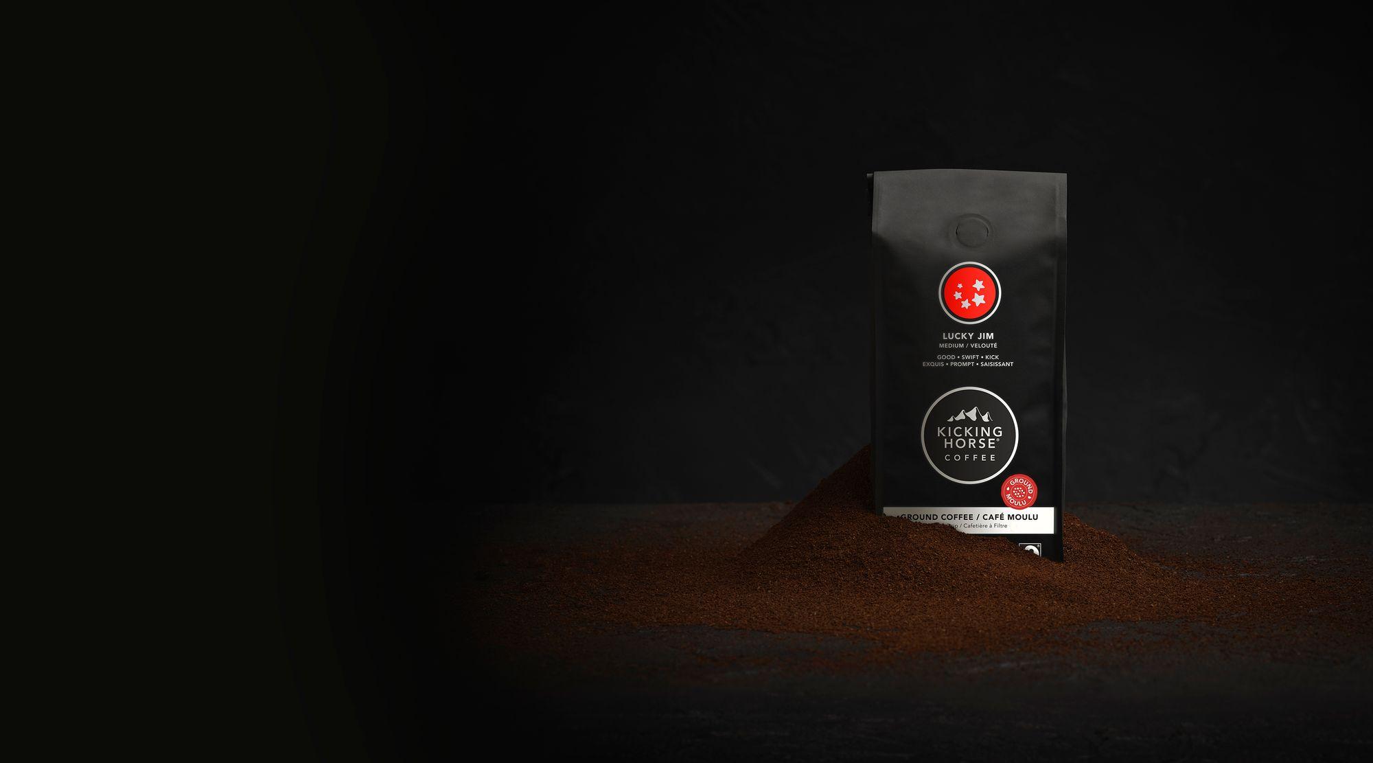 Lucky Jim ground coffee