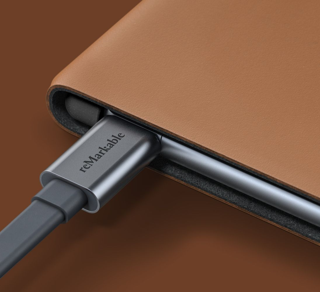 usb-c charging on remarkable 2