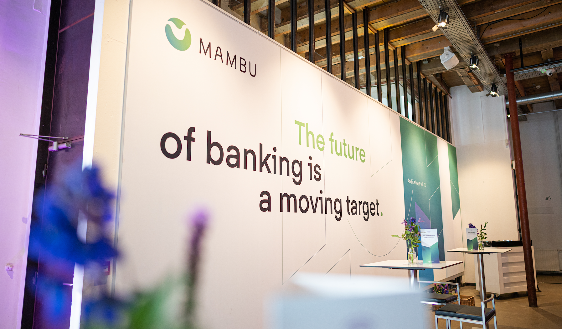 Mambu. The future of banking is a moving target.