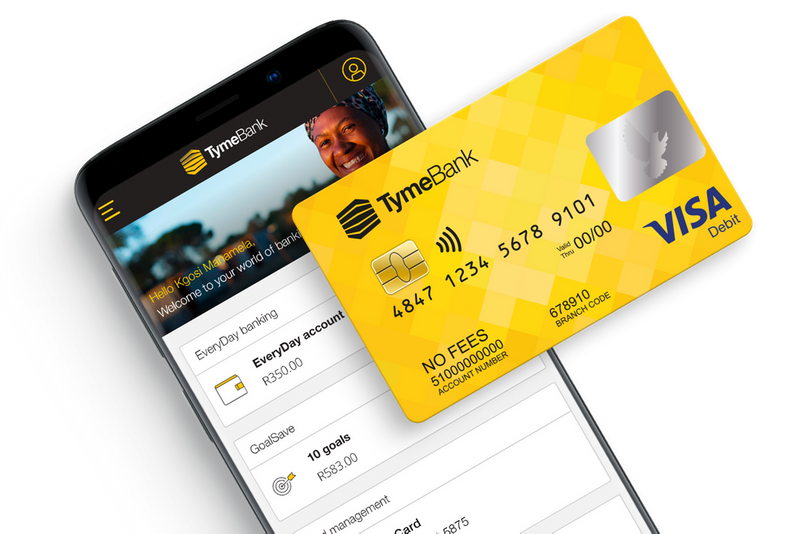 Banking card and mobile app