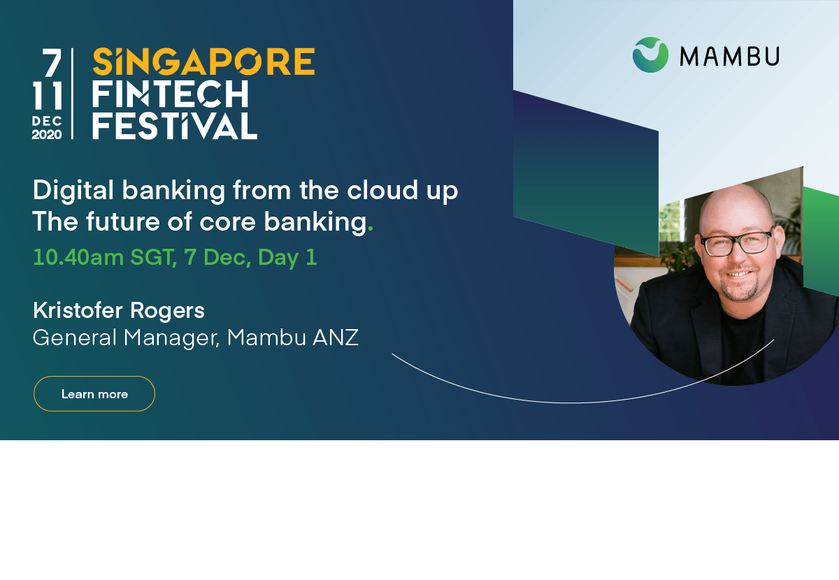 Digital banking from the cloud up the future of core banking. 7 Dec | 10:40am SGT