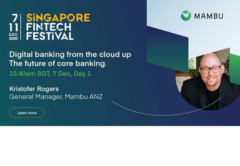 Digital banking from the cloud up the future of core banking. 7 Dec   10:40am SGT