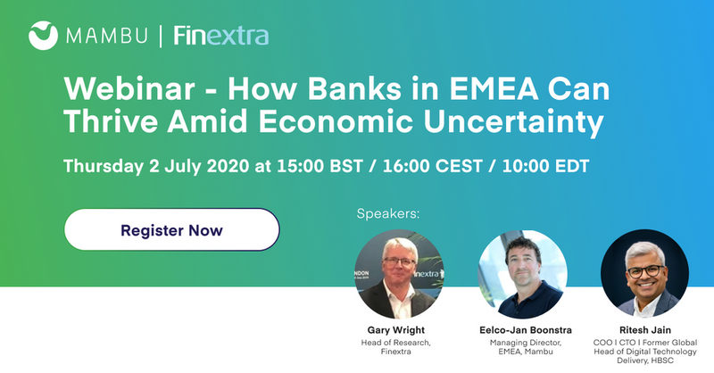 Mambu and Finextra webinar