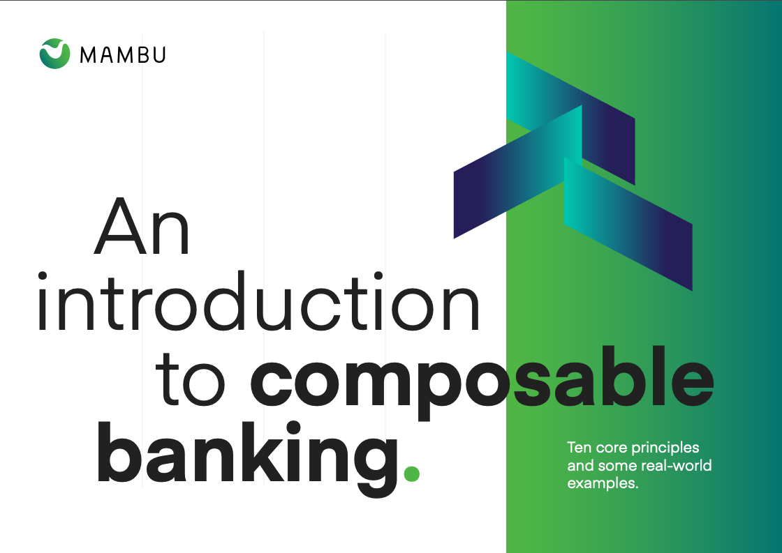 An introduction to composable banking.