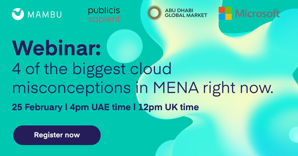4 of the biggest Cloud misconceptions in MENA right now