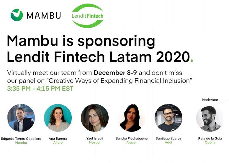 """""""Creative Ways of Expanding Financial Inclusion"""" panel images."""
