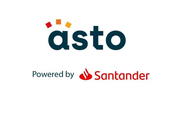 asto Powered by Santander logo