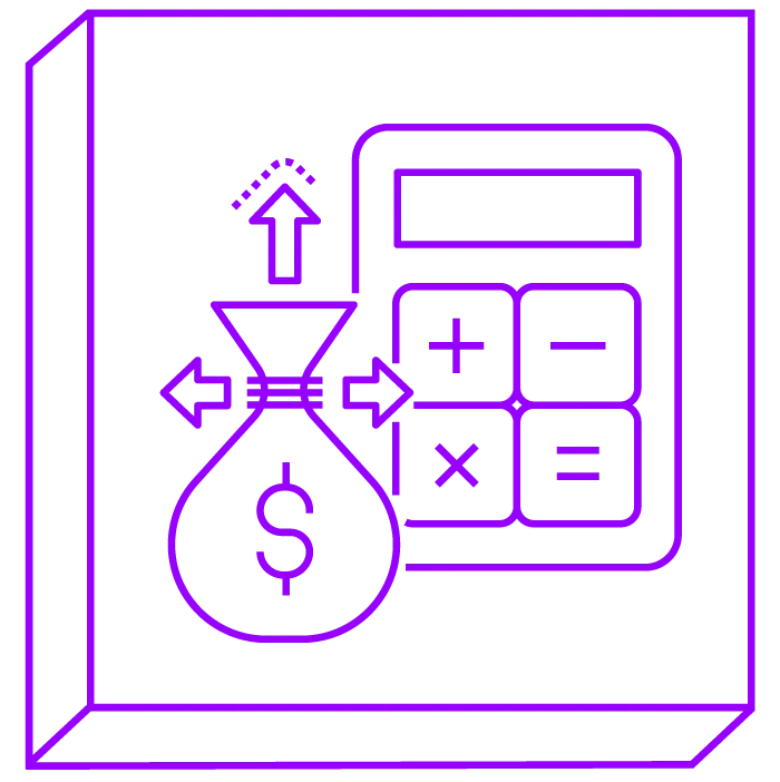 Cost-effective and scalable icon
