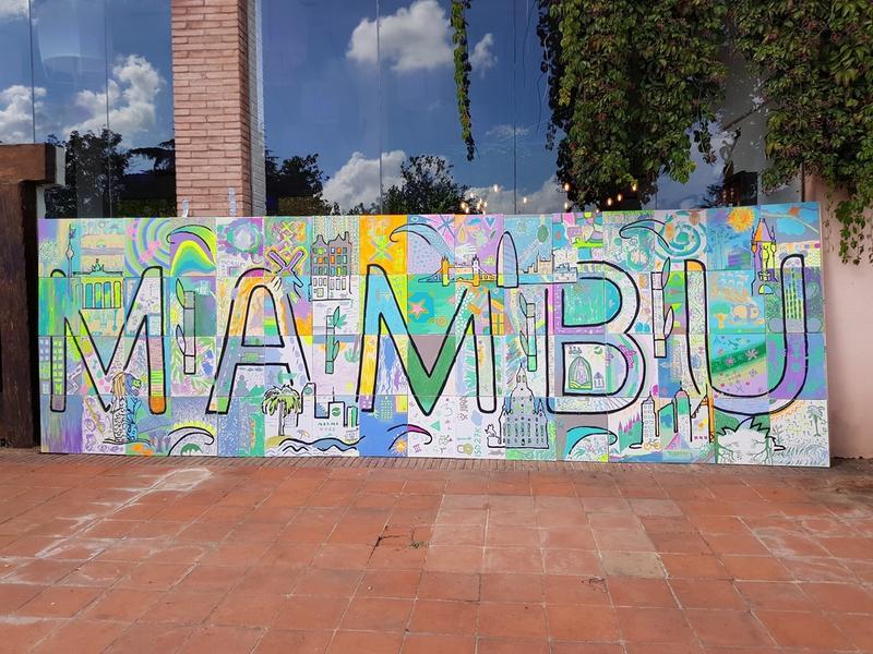 Mambu graffiti wall