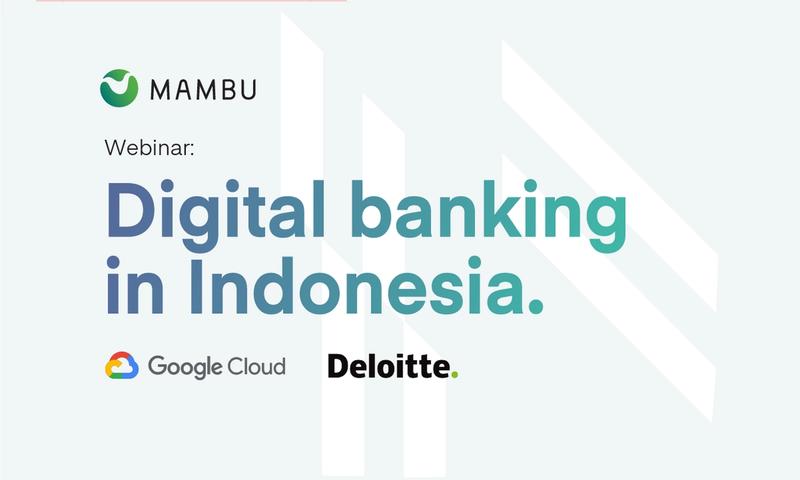 Digital banking in Indonesia.