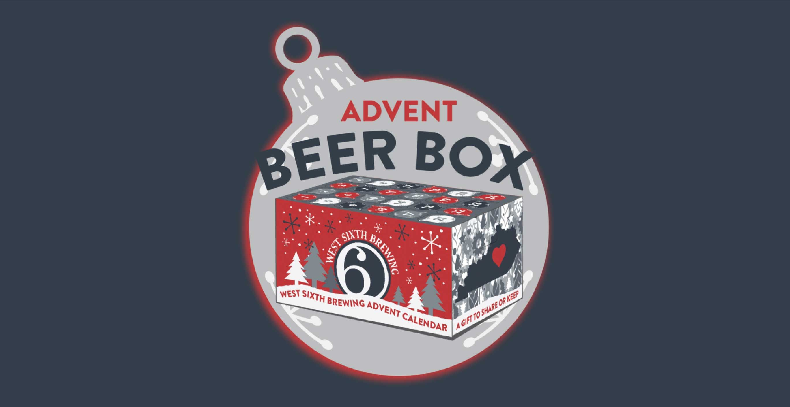 West Sixth Advent Beer Box