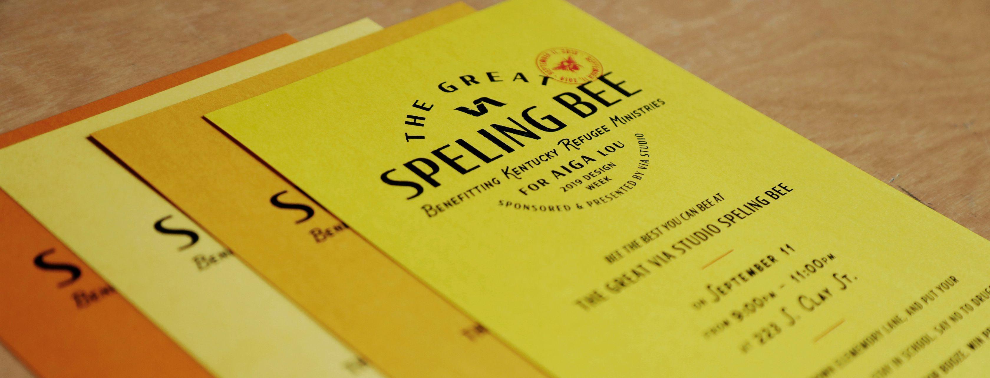 The Great VIA Speling Bee