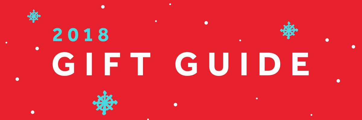 2018 Holiday Gift Guide for Web & Design Geeks