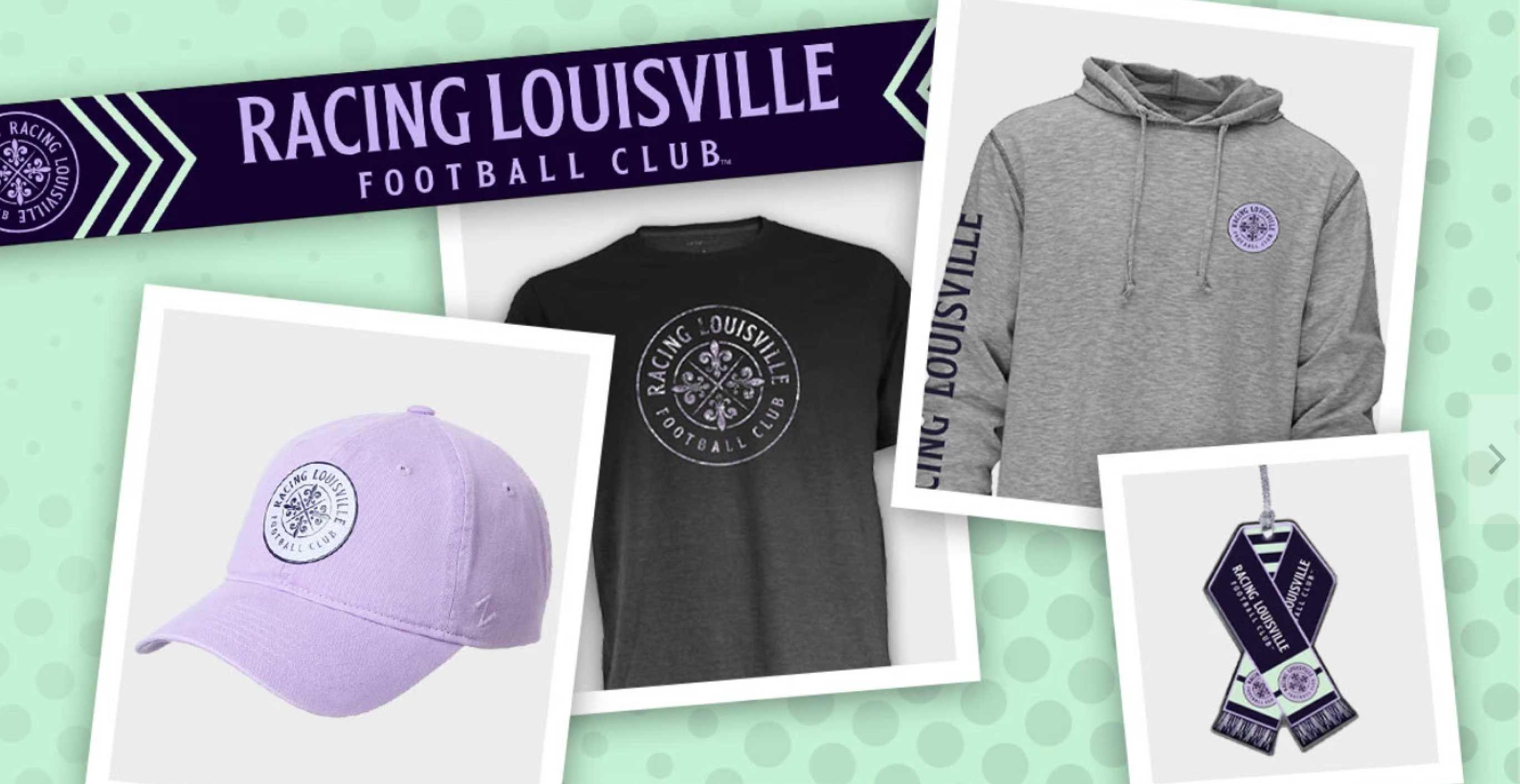 Racing Louisville FC Merch