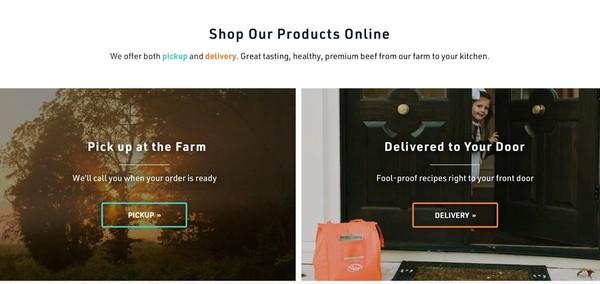 Foxhollow Farm Website Redesign