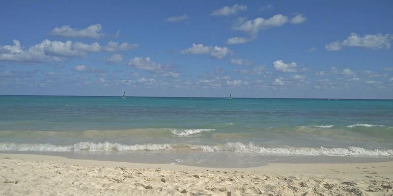 Beach view at Calle 88 Beach Access