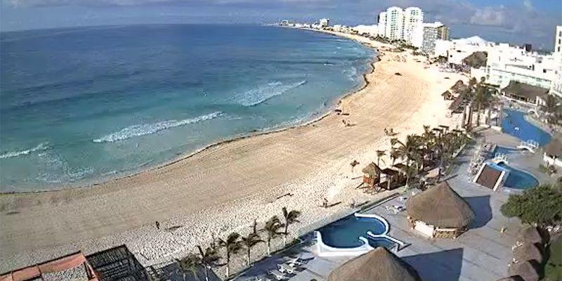 Beach view at Krystal Hotel and Resort