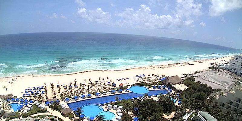 Beach view at Live Aqua Beach Resort