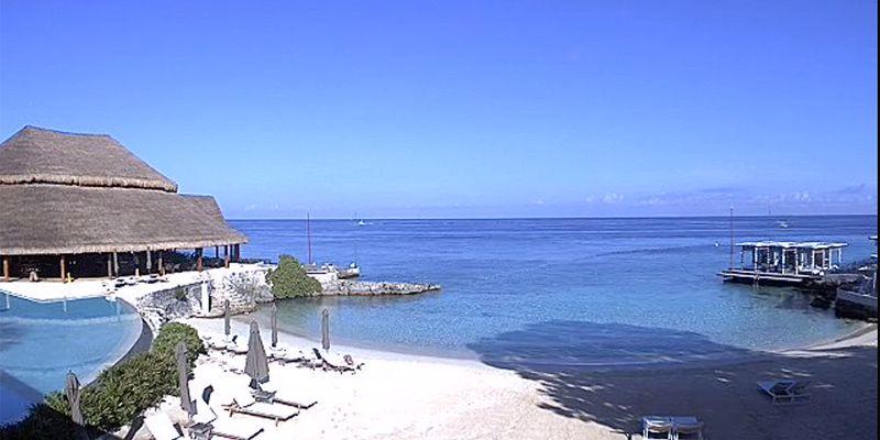 Beach view at InterContinental Presidente Cozumel Resort Spa
