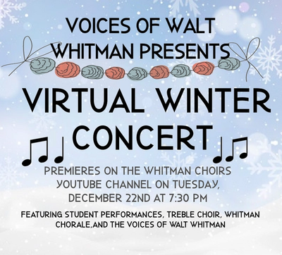 Image of winter concert information