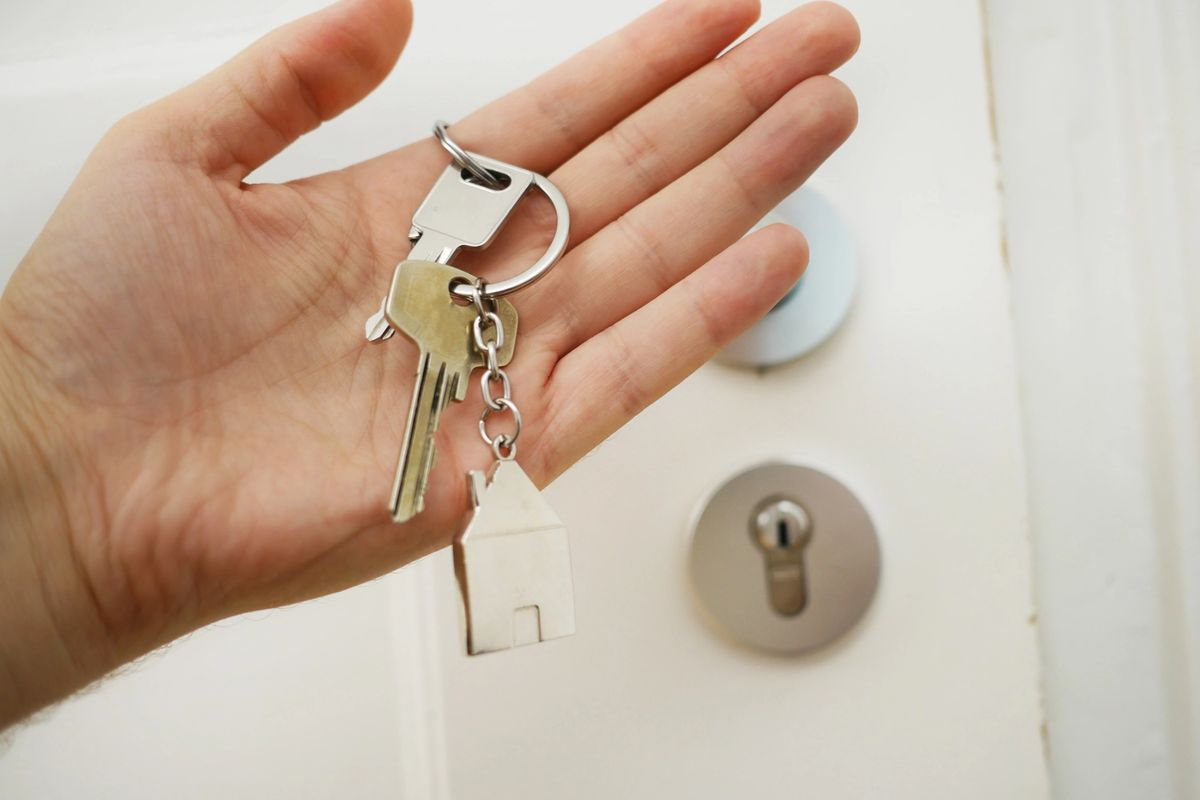 Image of key to home