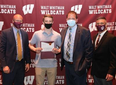 Many of Walt Whitman's graduating seniors were among the recipients of over 200 scholarships, both from colleges and universities and through private and public organizations.