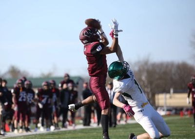 """Junior wide receiver Chris Silverio made """"The Catch"""" to give the Wildcats the lead with 16 seconds left in the game on Saturday."""