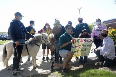 As part of Mental Health Awareness Month, Walt Whitman's Natural Helpers invited HorseAbility to their school to offer a unique therapeuticservice to the high school students.