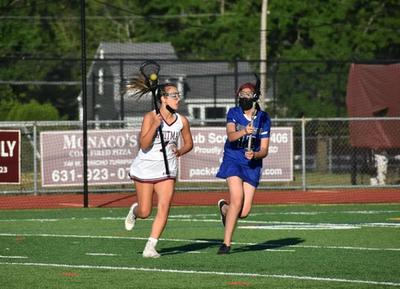 The Girls Varsity Lacrosse team had a shutout win at their senior game against Copiague on Tuesday.