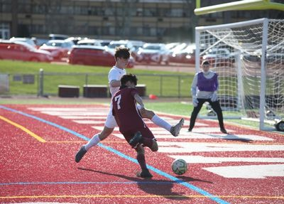 Victor Vilorio scored for the Wildcats to secure the win against Sachem East on Friday.