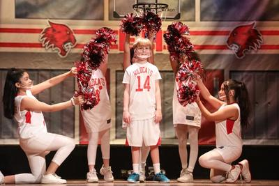 Troy Bolton, played by sixth-grader Landon Forlenza, is best known as being the captain of the East High Wildcats basketball team who discovers his love for singing.