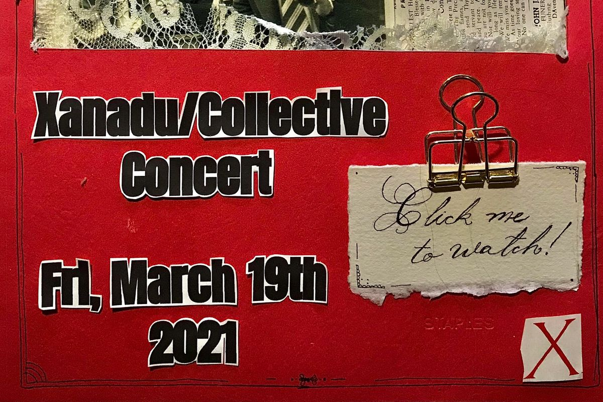 The virtual concert will begin at 7PM on Friday, March 19th.