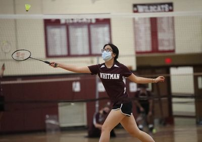 The Girls Varsity Badminton team defeated Smithtown East 8-1 on Wednesday, extending its league undefeated streak to 24 games!