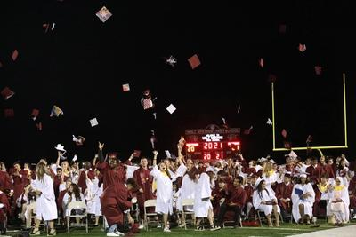 The Class of 2021 celebrates as they begin the next chapter of their lives together.