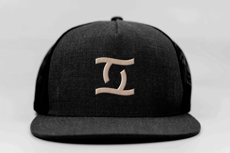 together agency brand logo design on hat