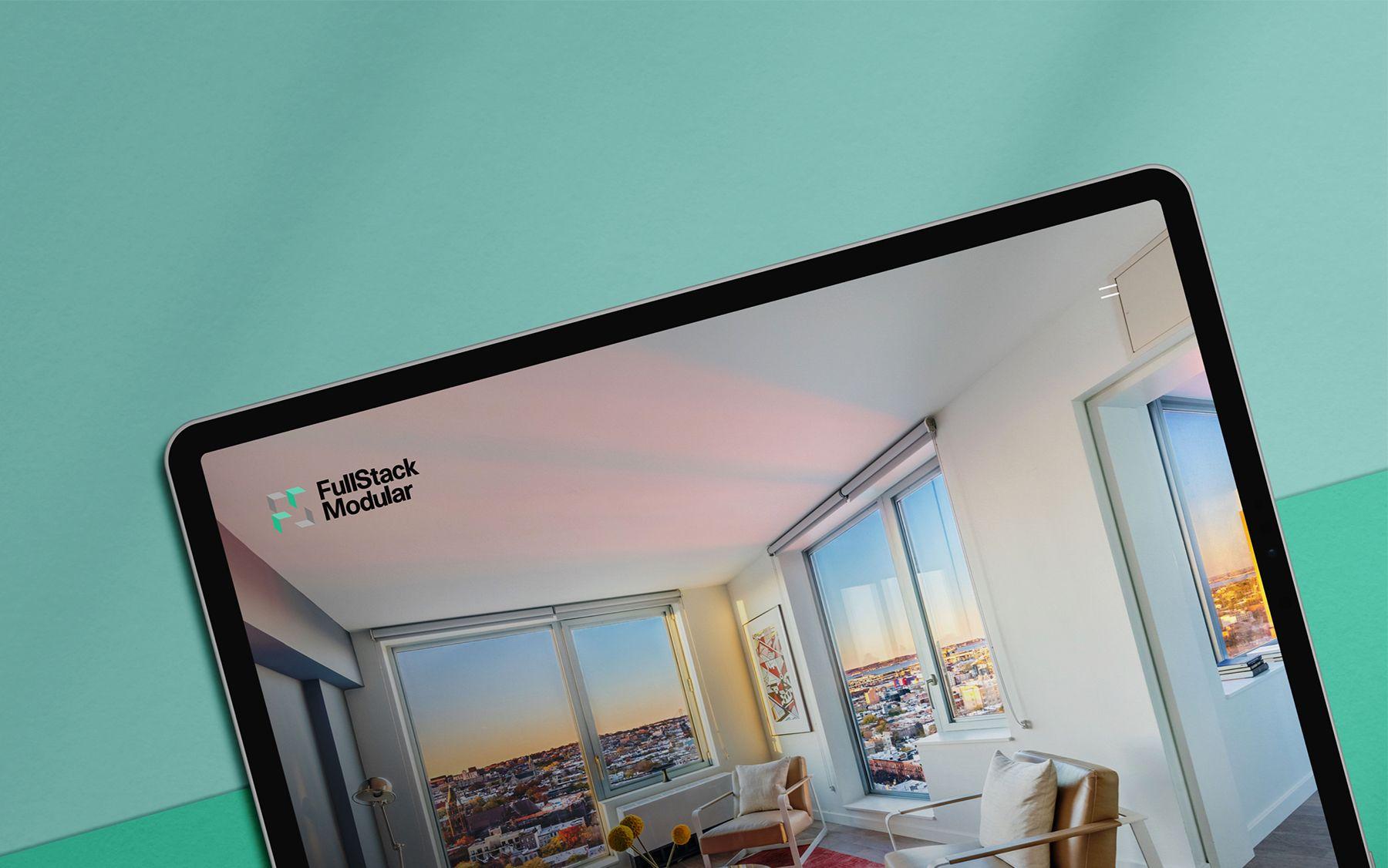 mobile image of Together Agency fullstack modular website design