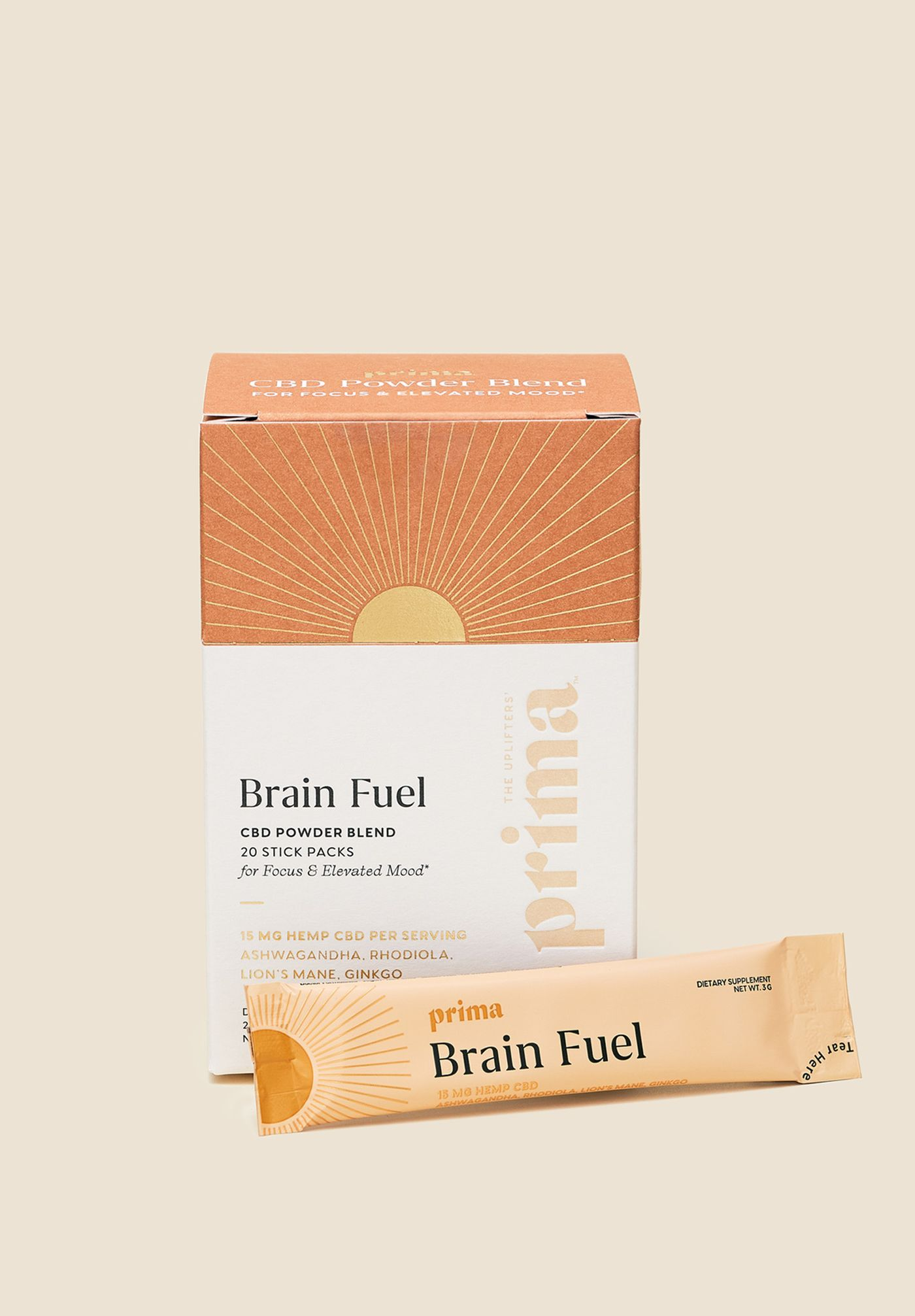 Brain Fuel 15mg CBD Functional Powder