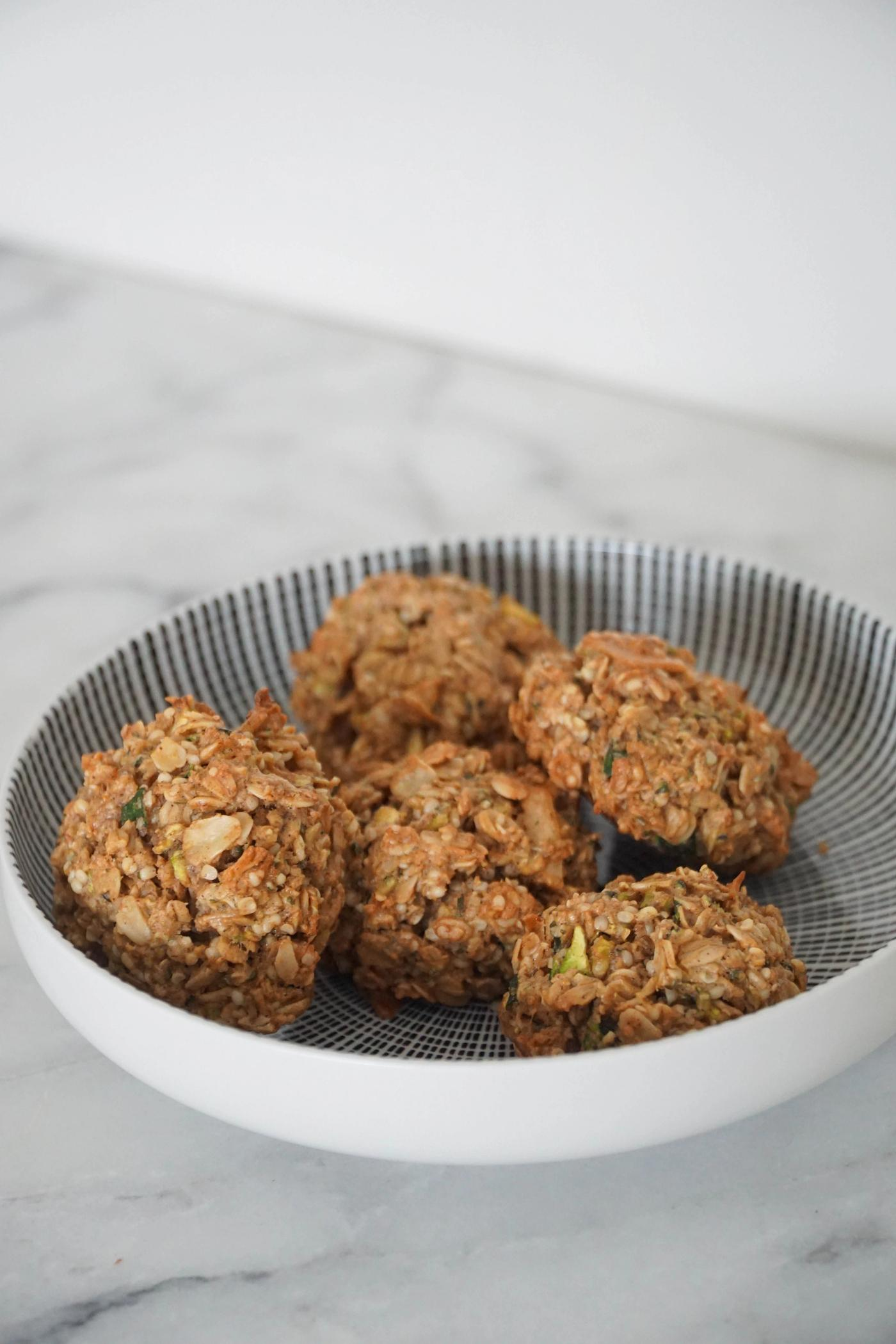 Hemp Zucchini Breakfast Cookies
